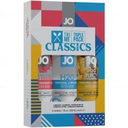 Jo Tri Me Lube Triple Pack - The Classics Product Image