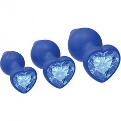My Heart Will Go On Plug Set - Blue Product Image
