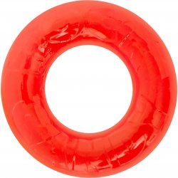 Rock Candy - Gummy Cock Ring - Red Product Image
