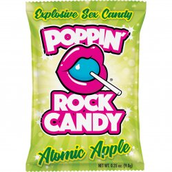Rock Candy - Poppin' Rock Candy Explosive Oral Sex Candy - Atomic Apple Product Image