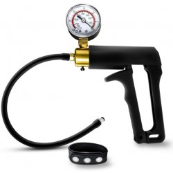 Performance - Gauge Pump Trigger With Silicone Tubing and Silicone Cock Strap - Black Product Image