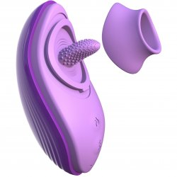 Fantasy For Her Her Silicone Fun Tongue - Purple Product Image