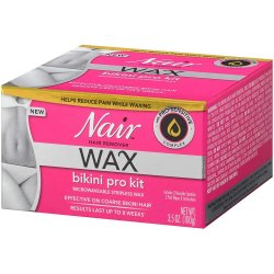 Nair Hair Remover Wax Bikini Pro Kit Product Image