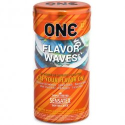 One: Flavor Wave Condoms - 12pk Product Image
