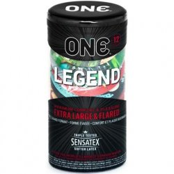 One: Legend Wide and Longer Condoms - 12pk Product Image