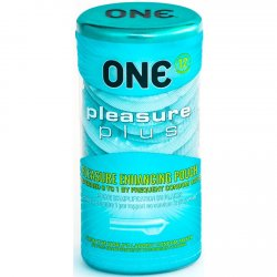 One: Pleasure Plus Condoms - 12pk Product Image