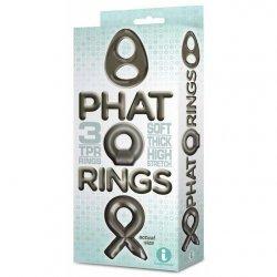 Phat Rings Chunky Cock Rings - Smoke 1 Product Image
