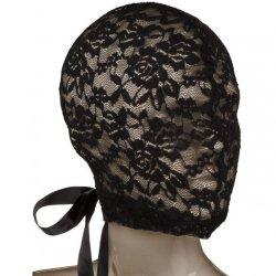 Scandal Corset Lace Hood - Black Product Image