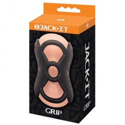 Jack-It Grip Masturbator - Natural Product Image
