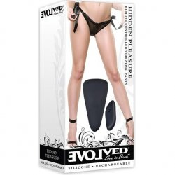 Evolved Hidden Pleasure Panty Vibe - Black Product Image