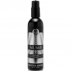 Master Series: Numb Desensitizing Water Based Lubricant with Lidocaine - 8oz. Product Image