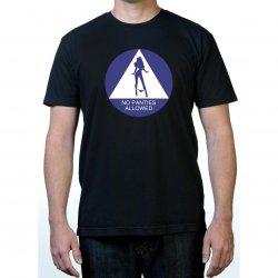 James Deen: No Panties Allowed T-Shirt - Black - Large Product Image