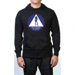 James Deen: No Panties Allowed Hoodie - Black - Medium Product Image