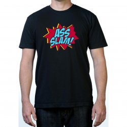 James Deen: Ass Slam T-Shirt - Black - Medium Product Image