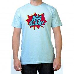 James Deen: Ass Slam T-Shirt - Blue - Medium Product Image