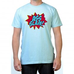 James Deen: Ass Slam T-Shirt - Blue - Large Product Image