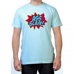 James Deen: Ass Slam T-Shirt - Blue - XLarge Product Image