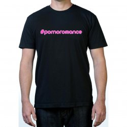 James Deen: #Pornoromance T-Shirt - Black w/ Pink - Small Product Image