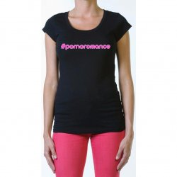 James Deen: #Pornoromance Scoop Neck - Black - Small Product Image