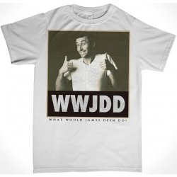James Deen: WWJDD T-Shirt - White - Small Product Image