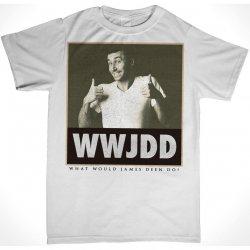 James Deen: WWJDD T-Shirt - White - Medium Product Image