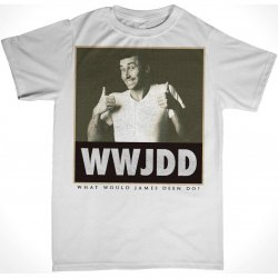 James Deen: WWJDD T-Shirt - White - Large Product Image