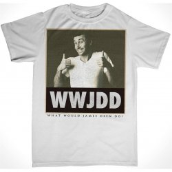 James Deen: WWJDD T-Shirt - White - XLarge Product Image