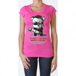 James Deen: Deen Machine Scoop Neck - Pink - Large Product Image