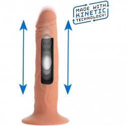"""Kinetic Thumping 7X Remote Control Dildo - Small 7"""" Product Image"""