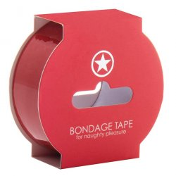 Ouch! Non Sticky Bondage Tape - Red Product Image