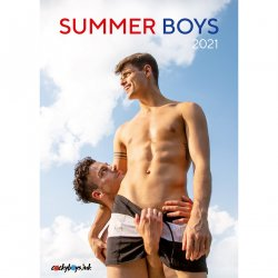 Summer Boys 2021 Calendar Product Image