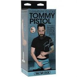 "Signature Cocks - Tommy Pistol 7.5"" ULTRASKYN Cock with Removable Vac-U-Lock Suction Cup Product Image"