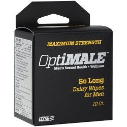 OptiMALE - So Long Delay Wipes for Men - 10 ct Product Image
