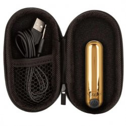 Rechargeable Hideaway Bullet - Gold Product Image