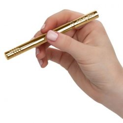Hidden Pleasures Gold Chrome Discreet Vibe Product Image