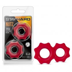 Stay Hard: Nutz - Red Product Image
