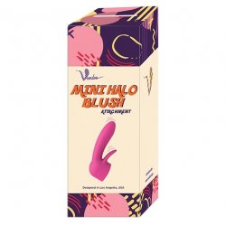 Voodoo Toys: Mini Halo Blush Wand Attachment - Pink Product Image