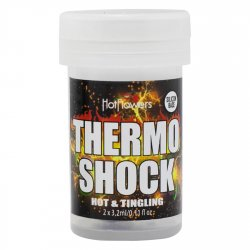 Body Oil Hot Balls Thermo Shock - Hot & Tingling - 2 Lube Balls Product Image