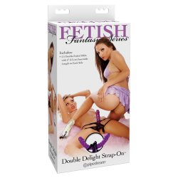 Fetish Fantasy Series Double Delight Strap-on Double Product Image