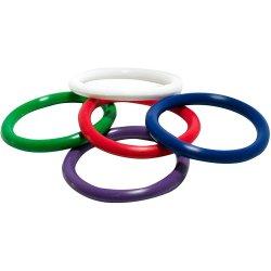 Triton: Rainbow Rubber Pleasure Rings Product Image