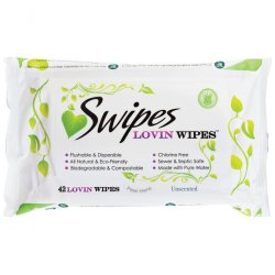 Swipes Unscented Lovin Wipes - 42 Pack Product Image