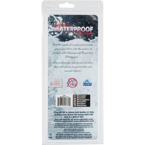 """Superslim Waterproof 6"""" - Red 6 Product Image"""
