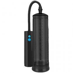Shots Pumped Extreme Power Rechargeable Auto Pump - Black Product Image