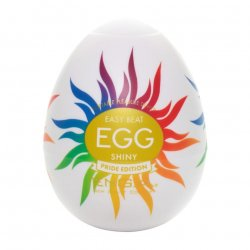 Tenga Easy Beat Egg Shiny Pride Edition Stroker Product Image