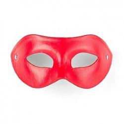 Shots Imitation Leather Eye Mask - Red Product Image