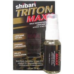 Shibari Triton Maxx Male Desensitizing Spray - 1oz. Product Image