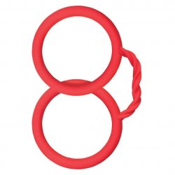 Surenda Silicone Cuffs - Red Product Image