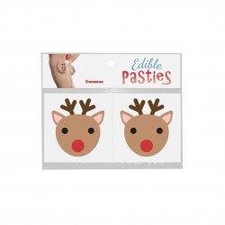 Edible Body Pasties - Cinnamon Reindeer Product Image