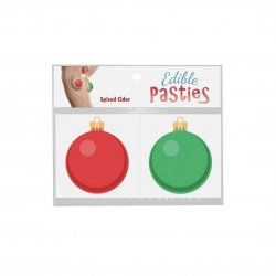 Edible Body Pasties - Spiced Cider Holiday Bulbs Product Image