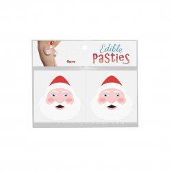 Edible Body Pasties - Cherry Santa Faces Product Image
